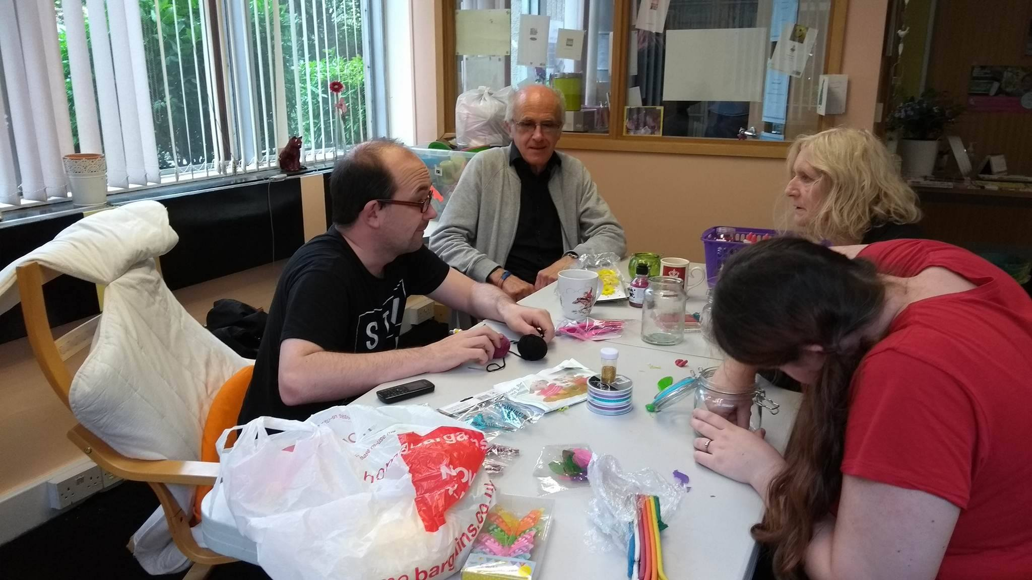 Crafts Days with Ian | Lifted Carers' Centre