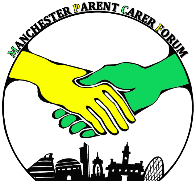 Manchester Parent Carer Forum's logo | MPCF logo