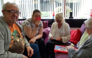 Game Day with Jeff, Petra, Anita, Hilda | Operation | Lifted Carers Centre