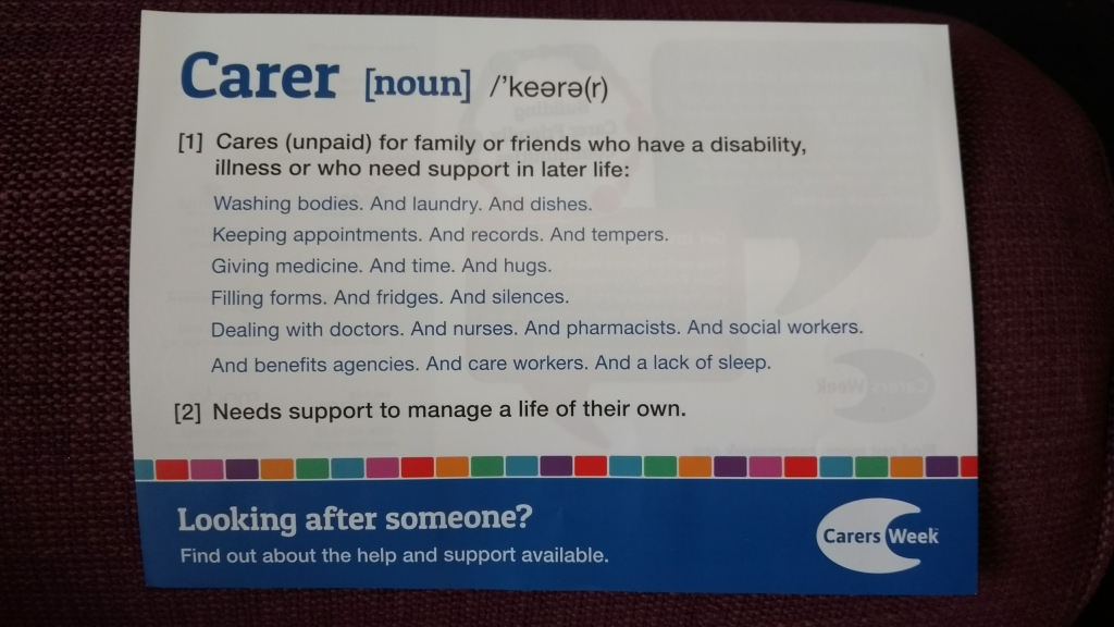 Are you a Carer? | Carers Week 2017