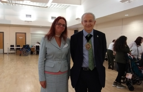 Carers Week Information Event - Emma and Lord Mayor Eddy Newman