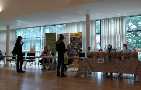 Carers Week Information Event - day so far - IAS and DF