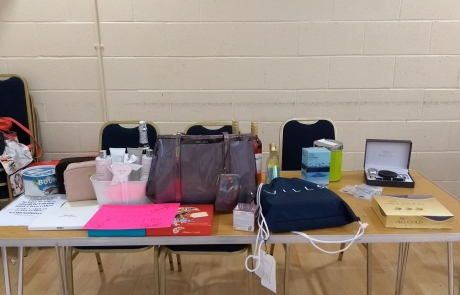 Carers Week Information Event stall - raffle