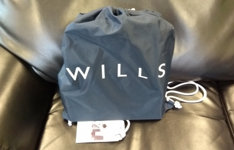 Carers Week raffle prize - Jack Wills gym gift bag