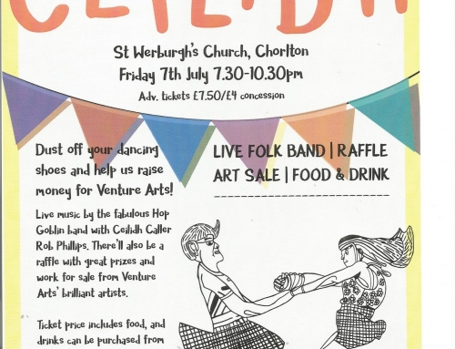 Information Sharing : Ceilidh Fundraising Event for Venture Arts