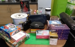 Carers Week tombola prizes