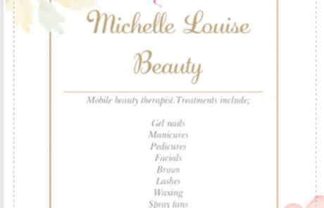 Michelle Louise Beauty Flyer