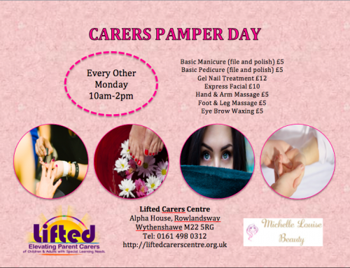 Biweekly Carers' Pamper Sessions