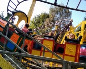 Crazy Train - Thumbs up! | Day Out at Gulliver's World Warrington