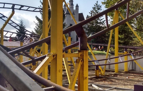 Crazy Train's winding tracks | Day Out at Gulliver's World Warrington