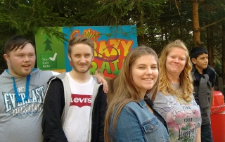 Happy young adults | Day Out at Gulliver's World Warrington