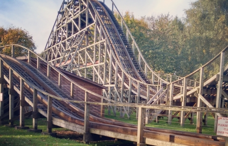 Antelope Wooden Coaster | Day Out at Gulliver's World Warrington