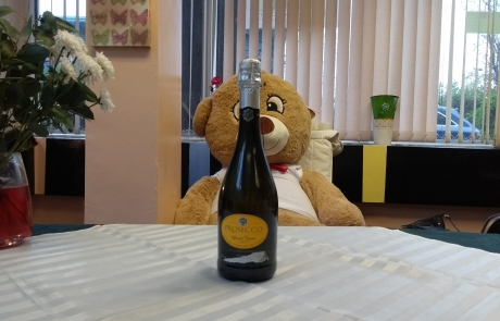 Bottle of prosecco for the Lifted Christmas raffle