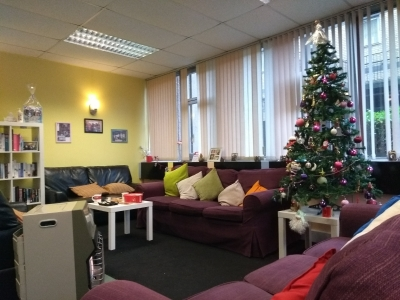 inside of Lifted Carers Centre during festive season 2017