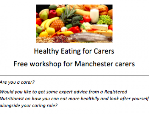 Information Sharing: Healthy Eating Workshop for Carers