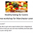 cropped screenshot of the Healthy Eating for Carers workshop flyer