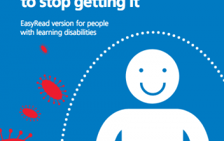 "Screenshot of ""All about flu and how to stop getting it"" leaflet for people with learning disabilities"