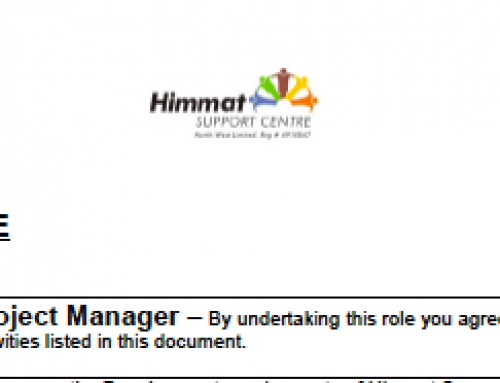 Information Sharing: Job Opening at Himmat Support Centre