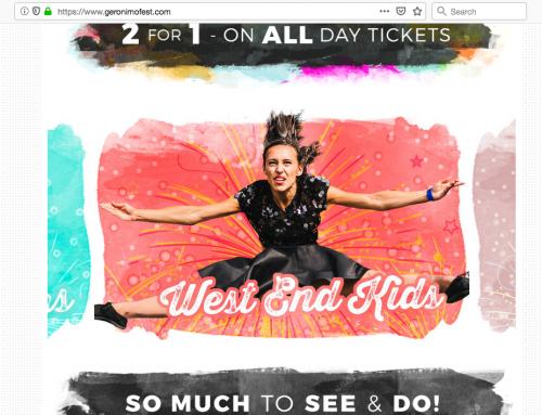 FREE Geronimo Festival Tickets