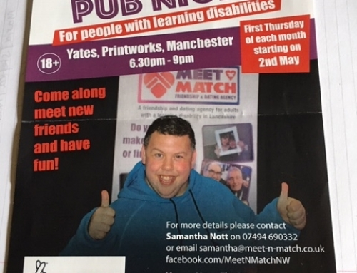 Information Sharing: Pub Night for People with Learning Disabilities