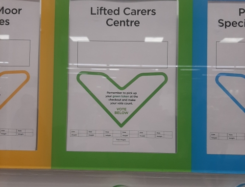 Support Us Through Your Asda Green Tokens