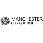 Manchester City Council's logo, centred in a 300x300 white background